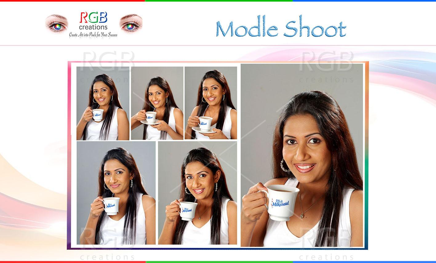 Milkmaid Modle Shoot