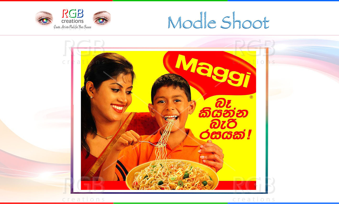 Maggi Product Shoot